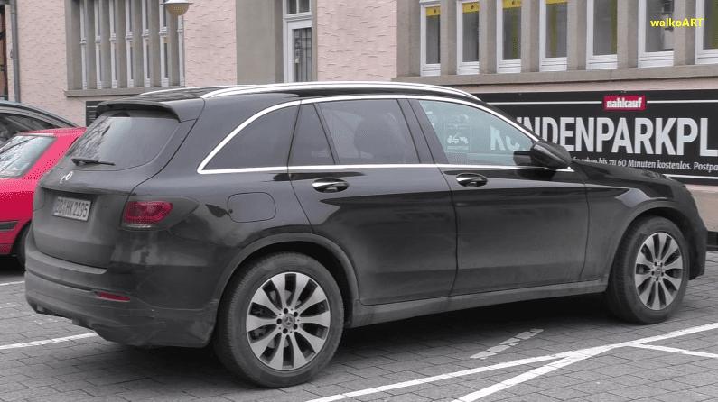 Viitorul Mercedes-Benz GLC facelift, spionat în timpul testelor