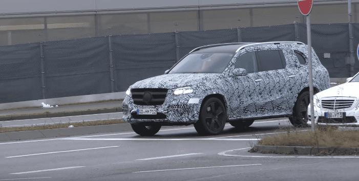Noua generație Mercedes-Benz GLS a fost filmată în timpul testelor