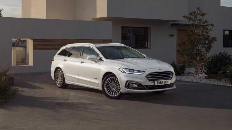 Ford prezintă Mondeo Wagon Hybrid facelift
