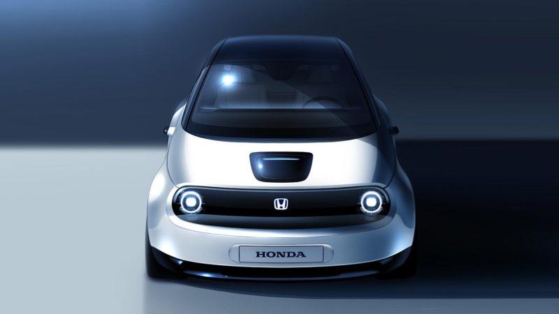 Primul teaser cu versiunea de pre-serie a primului model electric produs de Honda