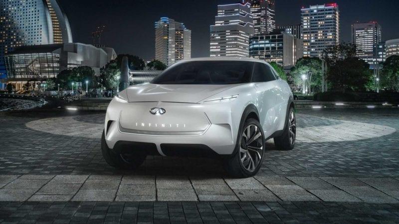 Conceptul Infiniti QX Inspiration va sta la baza unui crossover electric