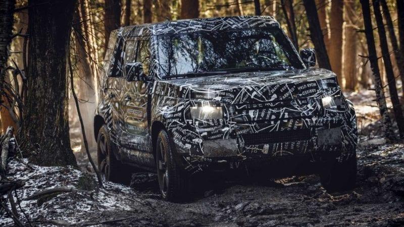 Viitorul Land Rover Defender a fost filmat în timpul testelor