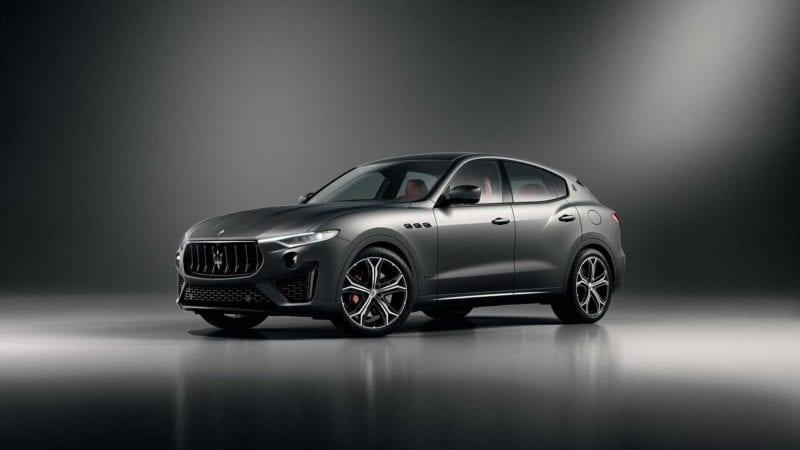 Maserati a prezentat ediția specială Levante Vulcano