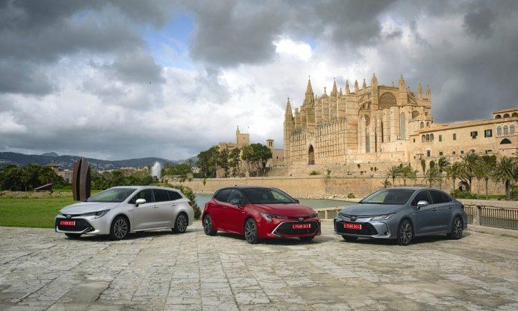 Toyota Corolla are un preț de pornire de 17.744 de euro