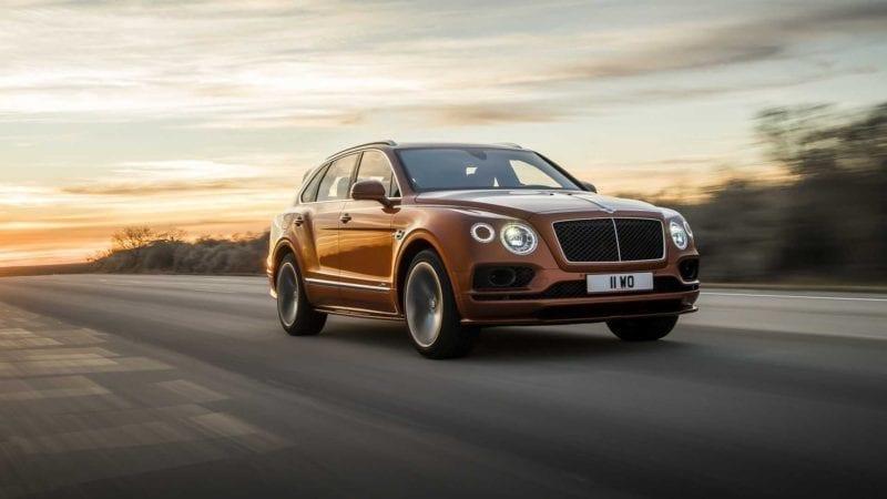 Bentley a prezentat noul Bentayga Speed. 635 CP și viteză maximă de 306 km/h