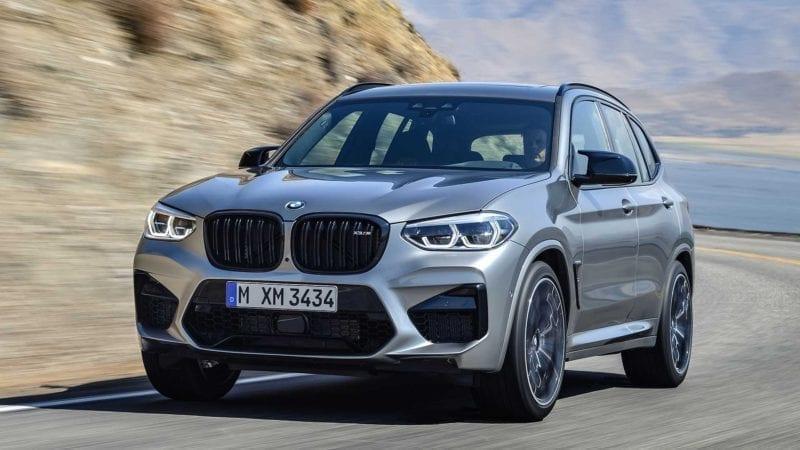 BMW a prezentat noile X3 M și X4 M