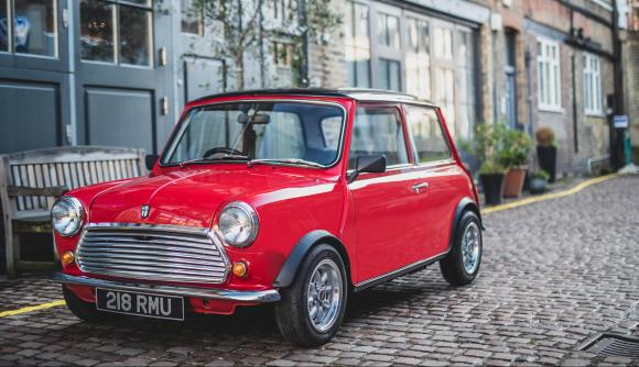 Swindon Powertrain a prezentat un Mini clasic electric