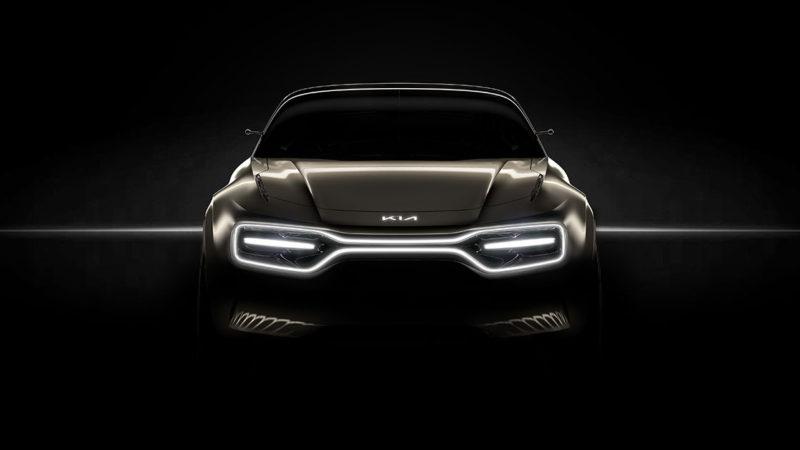Prima imagine teaser cu un nou concept electric dezvoltat de Kia