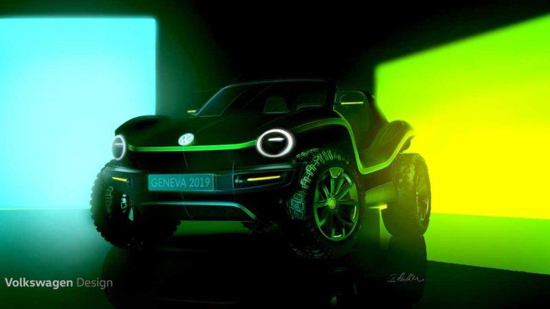 Volkswagen reinventează conceptul de dune buggy. Primele teasere