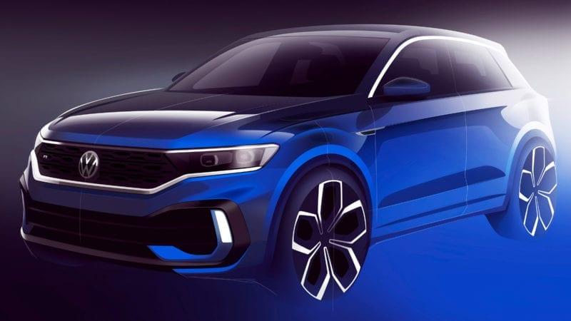 Prima imagine teaser cu viitorul Volkswagen T-Roc R
