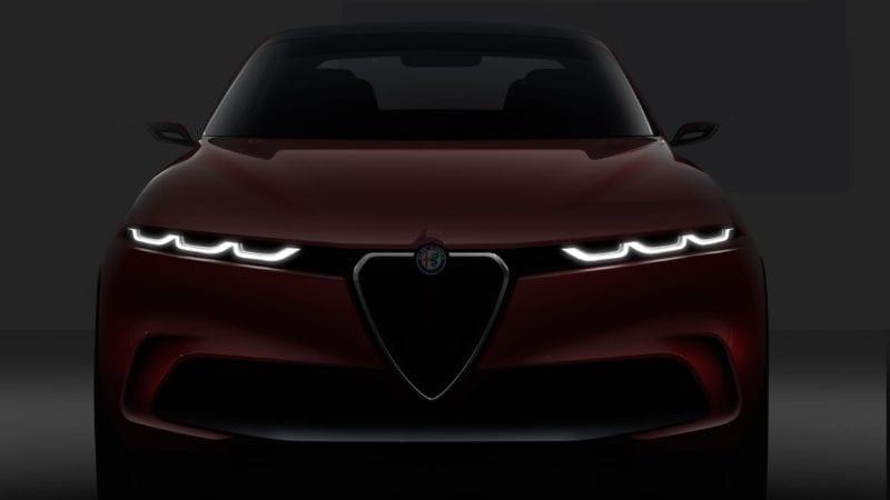 Alfa Romeo a prezentat conceptul Tonale. Stelvio va avea un frate mai mic