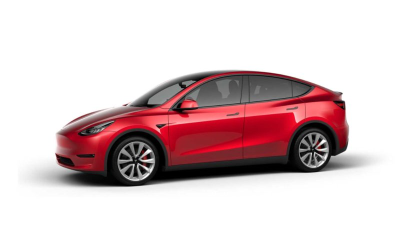 Tesla a prezentat noul SUV Model Y