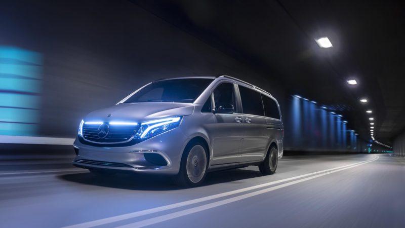 Mercedes-Benz EQV este o variantă de pre-serie a viitorului Clasa V electric