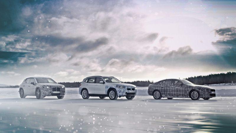 Primele imagini oficiale cu prototipurile BMW iX3, i4 și iNext