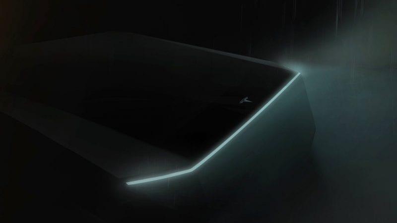 Tesla a publicat un teaser cu viitorul pick-up electric