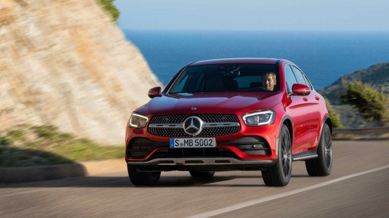 Mercedes-Benz a prezentat GLC Coupe facelift