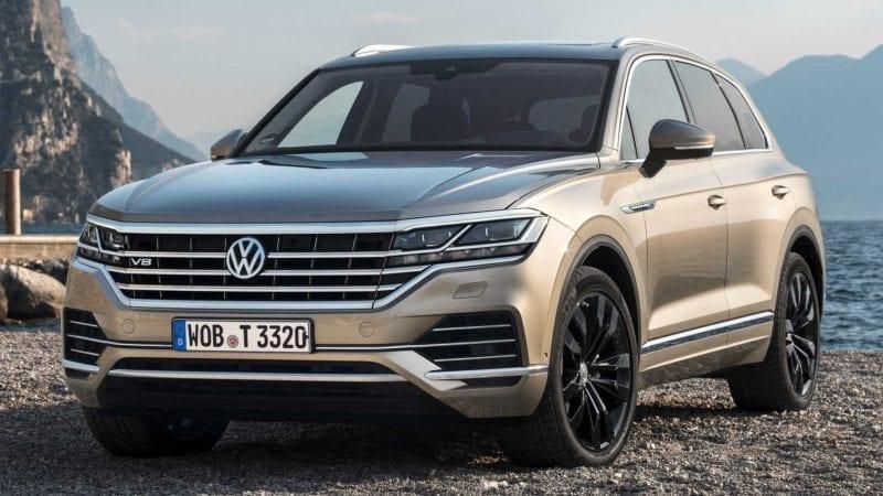 Volkswagen a prezentat Touareg V8 TDI cu 421 CP