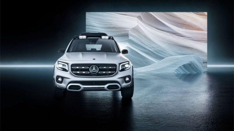 Mercedes-Benz a prezentat GLB Concept, un viitor SUV compact cu 7 locuri