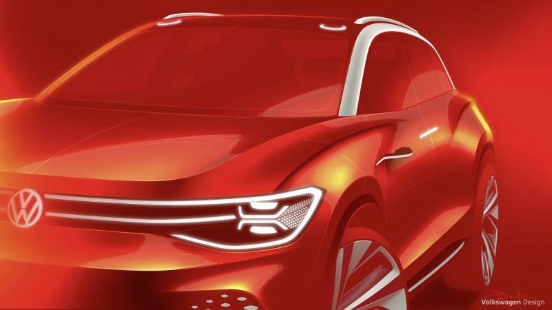 Volkswagen a publicat primele schițe cu conceptul electric ID Roomzz