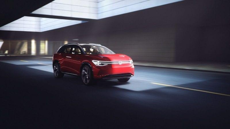 Volkswagen ID Roomzz Concept are 306 cai putere și autonomie de 450 de kilometri
