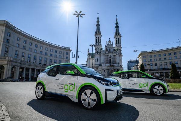 Cea mai mare flotă de BMW i3 pentru car sharing din lume se lansează la Varșovia