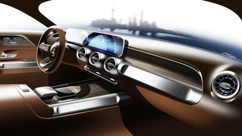 Mercedes-Benz a publicat prima schiță cu viitorul SUV GLB