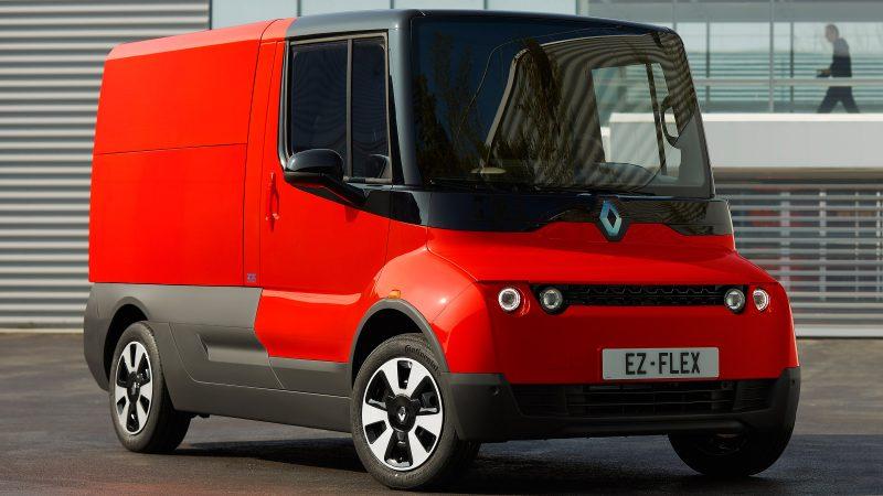 Renault a prezentat utilitara electric EZ-Flex