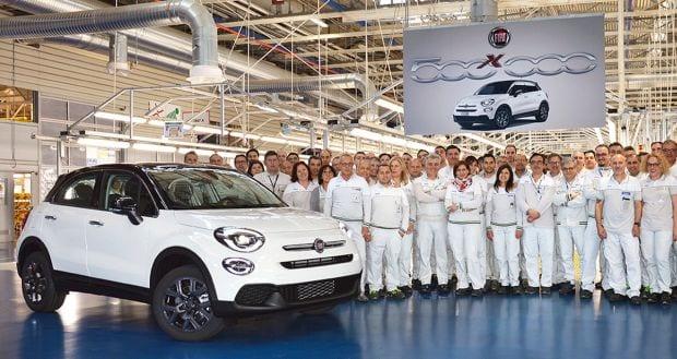 Fiat a produs jumătate de milion de unități 500X