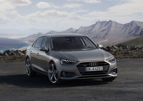 Audi vine cu update-uri pentru modelul A4. Printre noutăți se numără și motorizări mild-hybrid