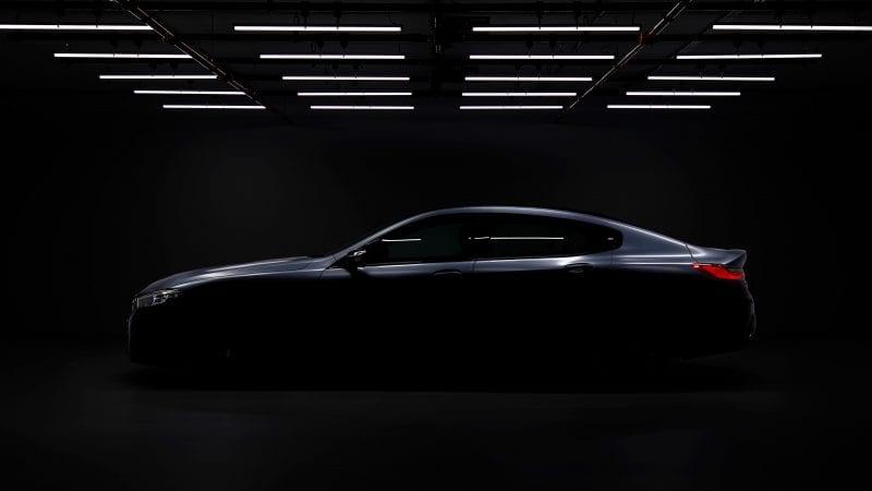 BMW a publicat primul teaser cu viitorul Seria 8 Gran Coupe