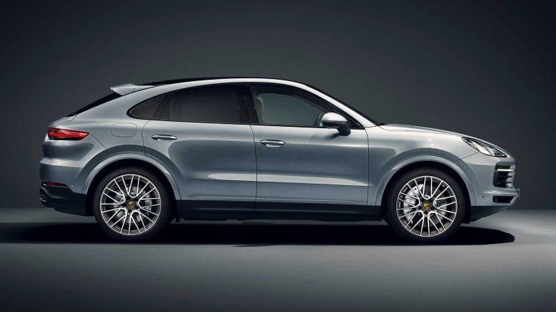 Porsche a prezentat noua versiune Cayenne S Coupe
