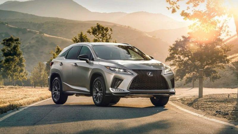 Lexus a prezentat RX facelift