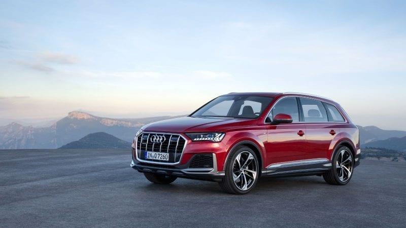 Audi a lansat un facelift pentru Q7