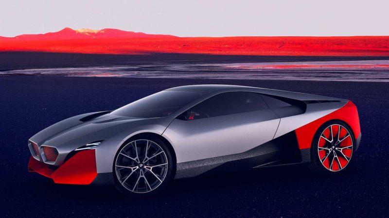 BMW ne face cunoștință cu Vision M Next, un prototip plug-in hybrid cu 600 de cai putere