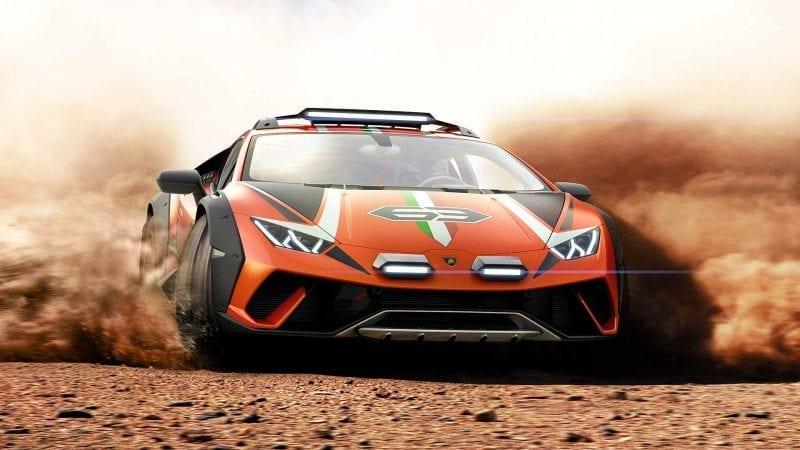 Lamborghini a prezentat conceptul de off-road Huracan Sterrato