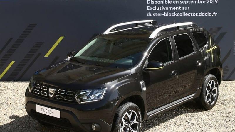 Dacia lansează ediția specială Duster Black Collector pentru piața din Franța