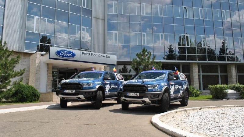 Două exemplare Ford Ranger Raptor și opt temerari pasionați de off-road pornesc către Islanda