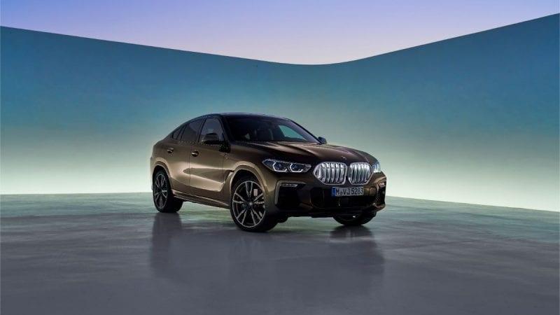 Primele poze și detalii cu noua generație BMW X6