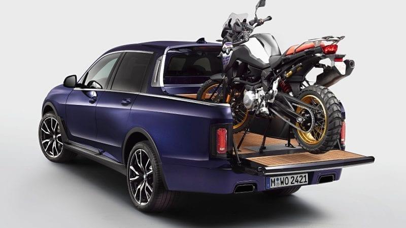 BMW a prezentat proiectul X7 Pick-up, un concept unicat dezvoltat de stagiarii uzinei din Munchen