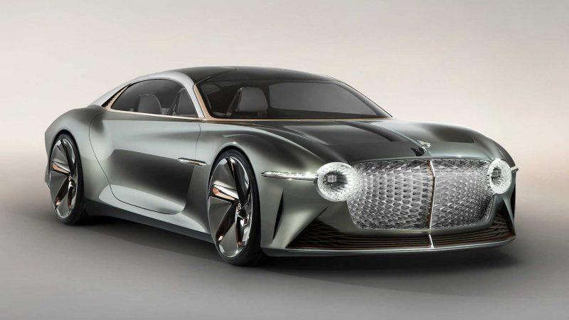 Bentley a prezentat conceptul electric EXP 100 GT