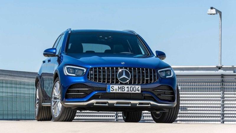Mercedes a prezentat versiuni facelift pentru AMG GLC 43 și AMG GLC 43 Coupe