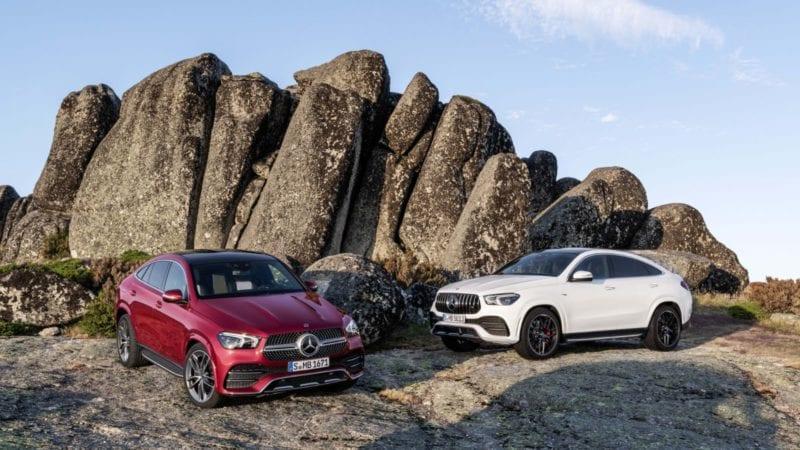 Mercedes-Benz GLE Coupe a primit o nouă generație