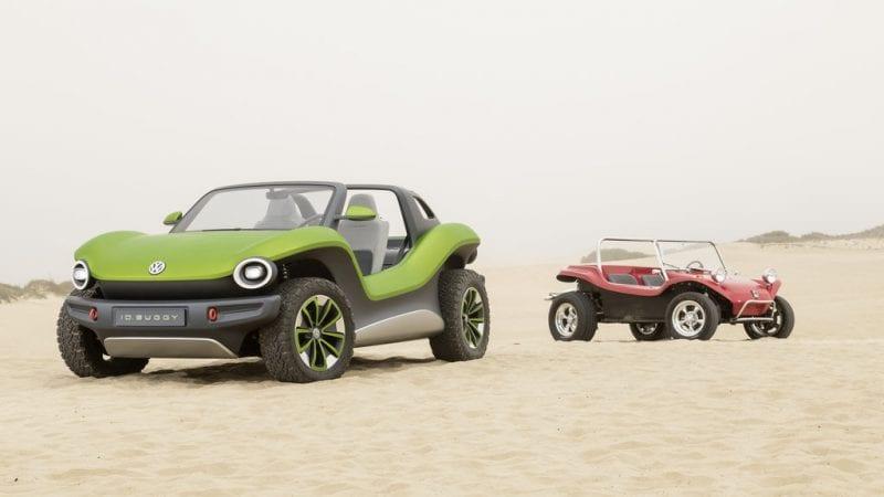 Un prototip Volkswagen ID Buggy a fost prezentat la Pebble Beach