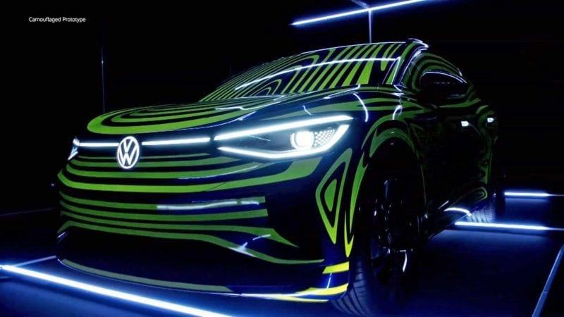 Primul SUV electric din gama Volkswagen ID va fi prezentat în luna februarie