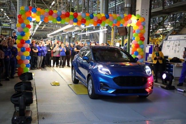 Ford Puma a intrat în producție pe liniile de asamblare de la Craiova