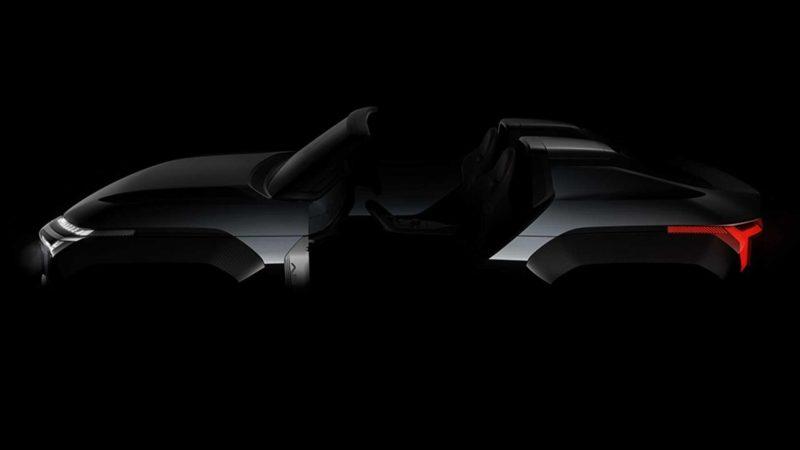 Imagine teaser cu Mitsubishi Mi-Tech Concept