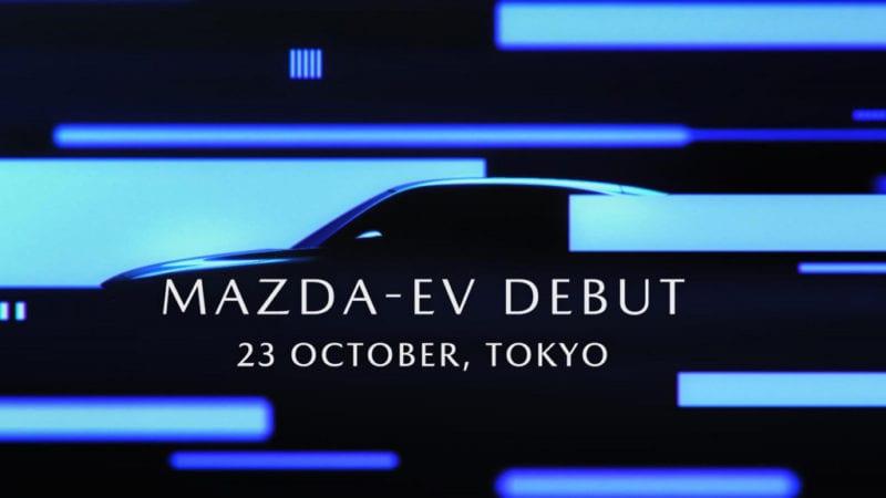 Mazda a publicat un teaser video nou cu viitorul SUV electric