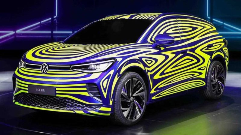 Volkswagen a publicat imagini noi cu SUV-ul electric ID.4