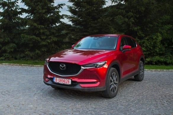 Test Mazda CX-5: Dorința de a reuși