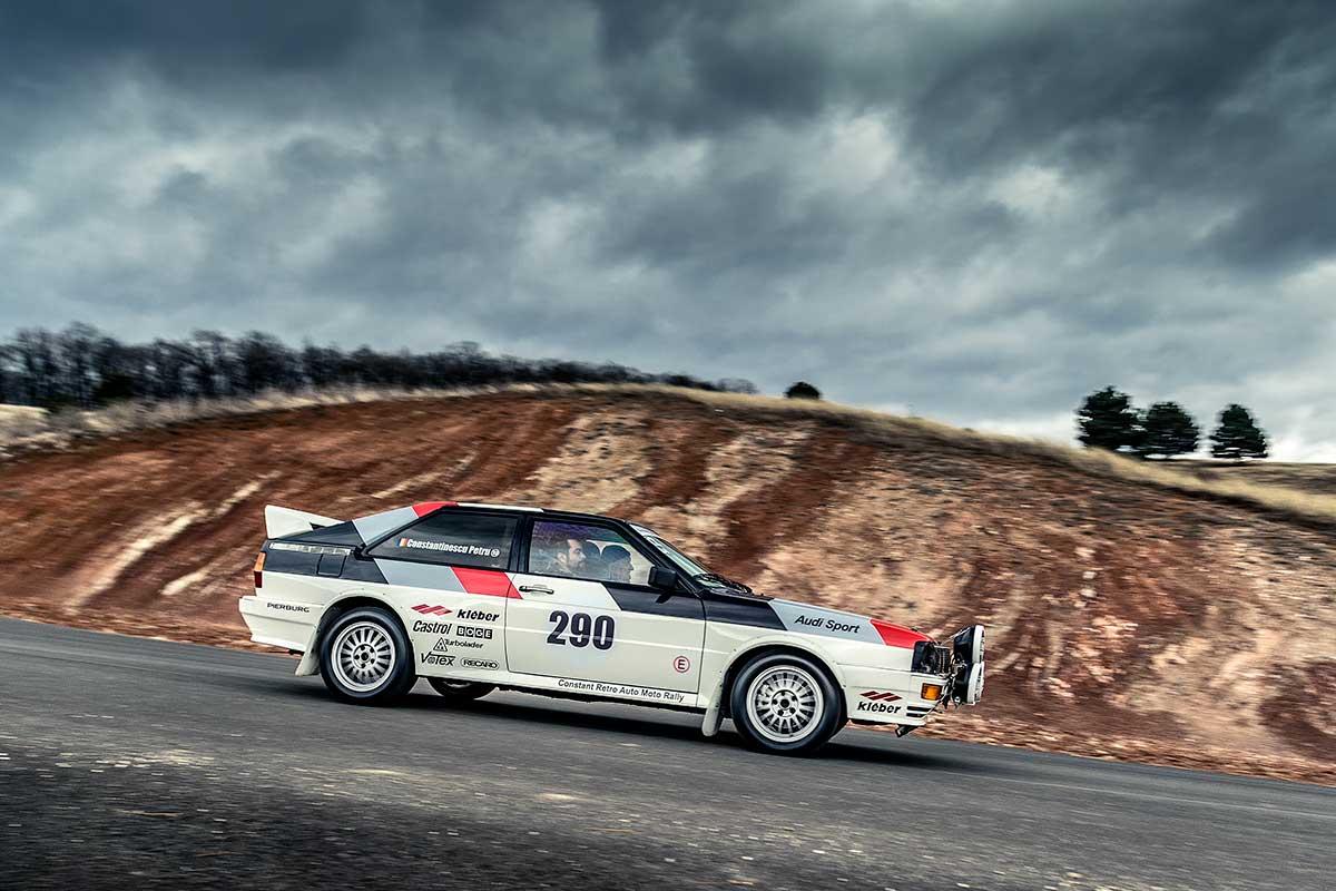 Audi quattro: Centenar de adrenalină